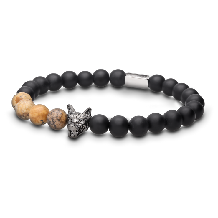 WOLF Men's Bracelet Set (wood exclusive)-Wolf Clothing Brand