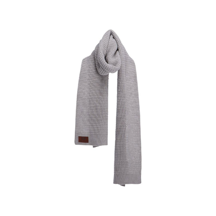 WOLF Scarf (light grey)-Wolf Clothing Brand