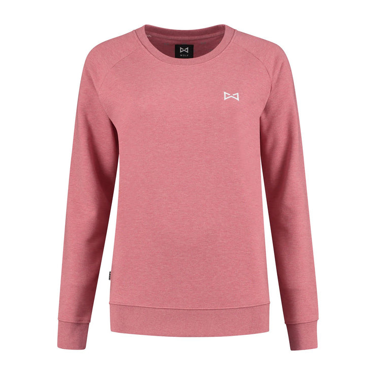 WOLF Classic Sweater (cranberry pink) - Wolf Clothing Brand