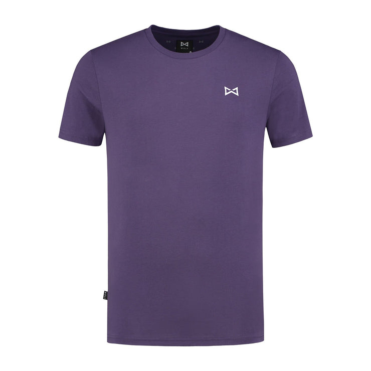 WOLF Classic T-shirt (purple) - Wolf Clothing Brand
