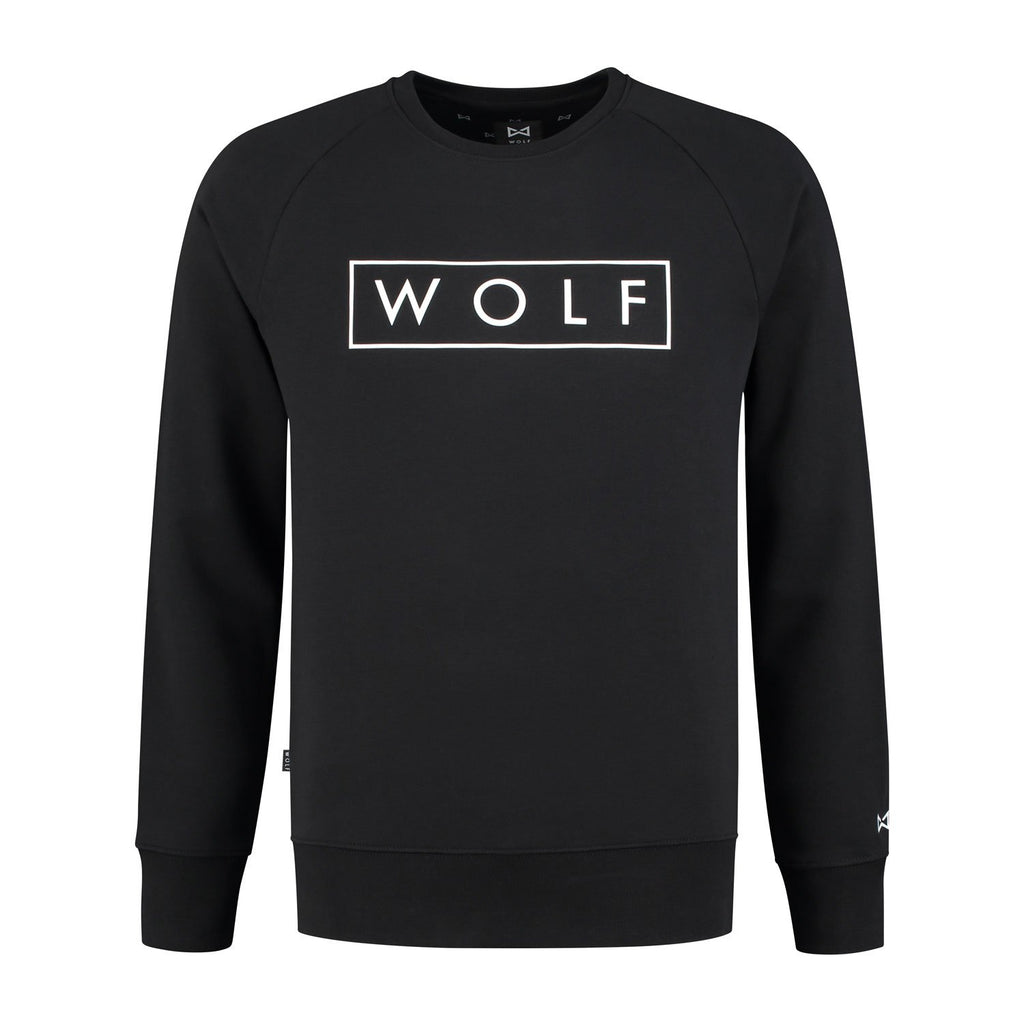 Sweater 3D (black) - Wolf Clothing Brand