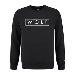 WOLF Sweater 3D (Black)-Wolf Clothing Brand