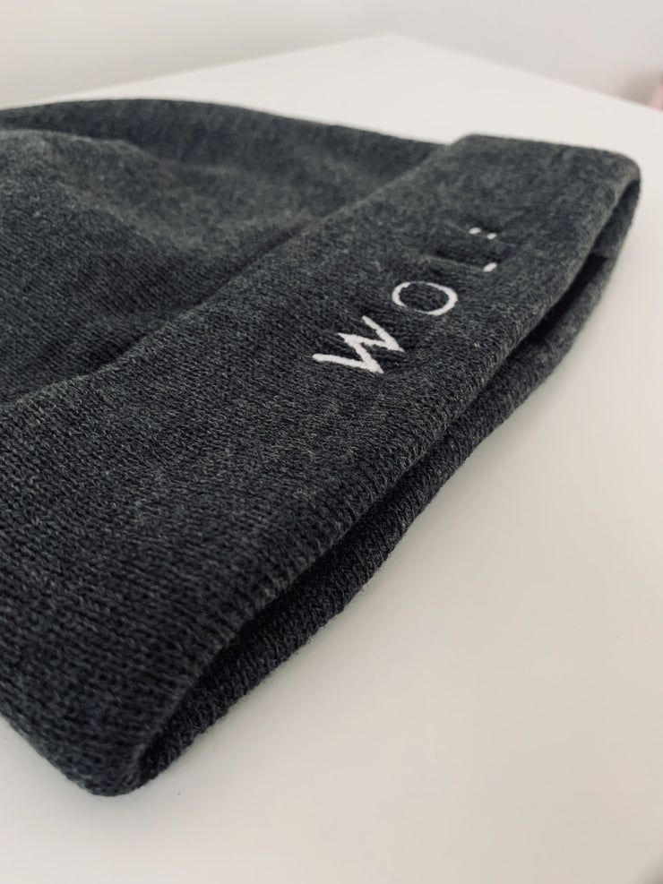 WOLF Cuffed Winter Hat Cap - Wolf Clothing Brand