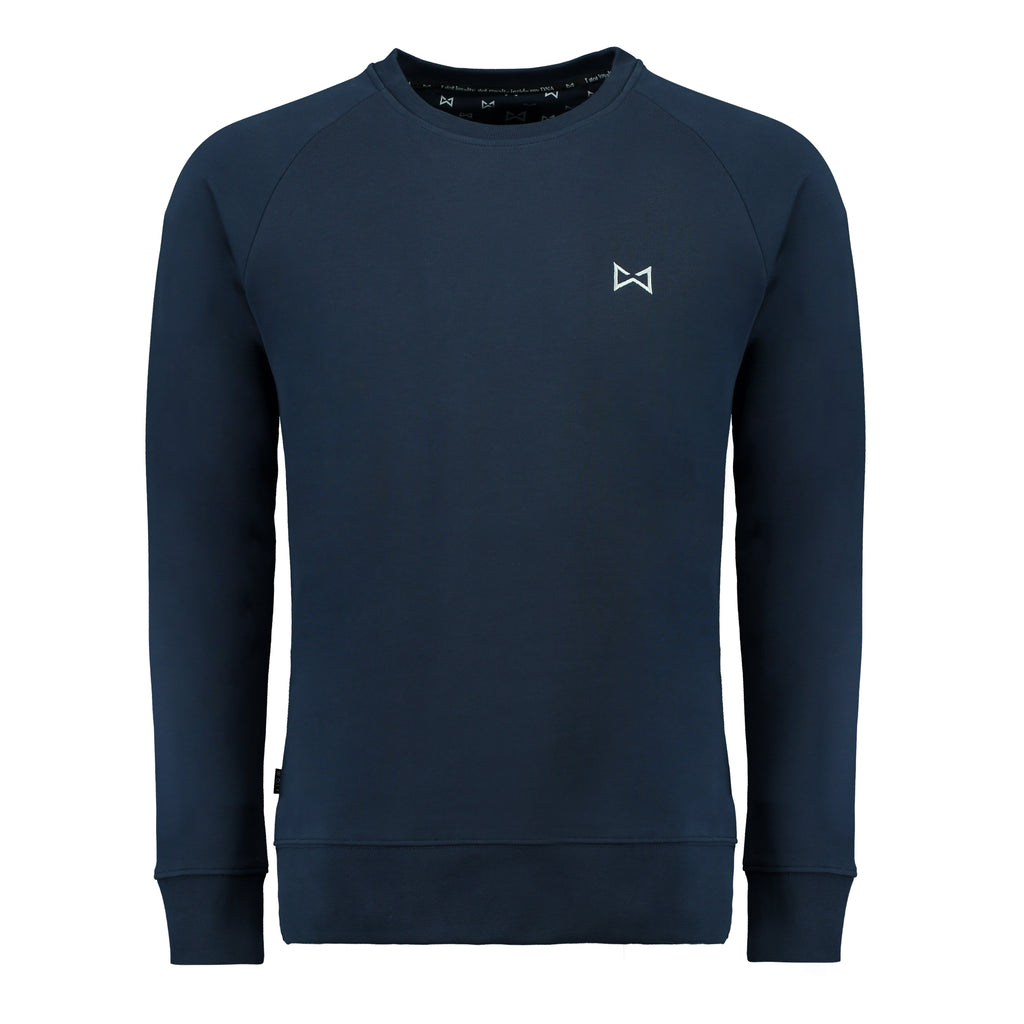Classic sweater (navy) - Wolf Clothing Brand