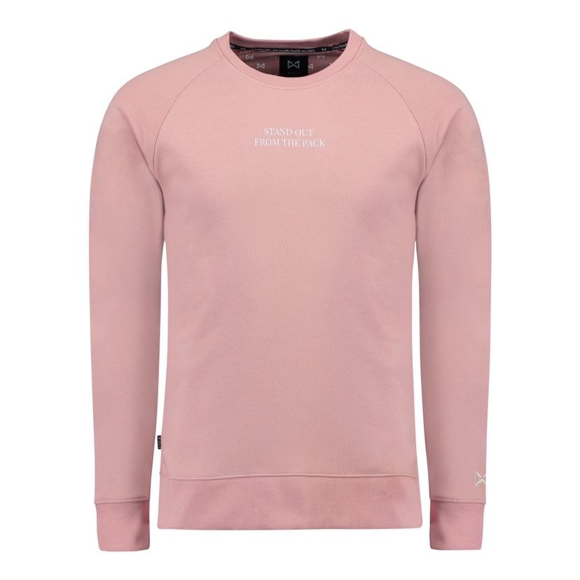 WOLF Stand Out Sweater (canyon pink) - Wolf Clothing Brand