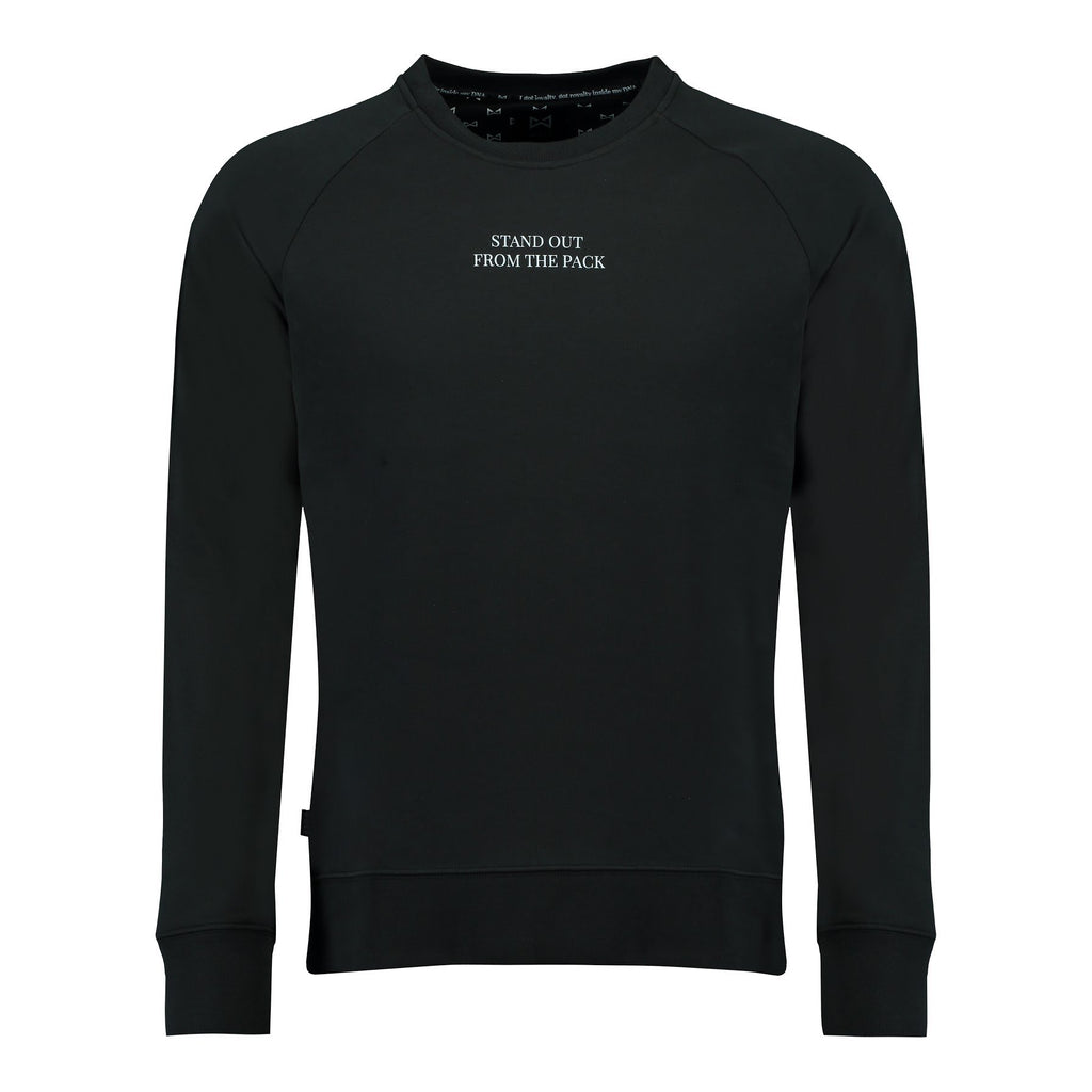 Sweater Stand Out (black) - Wolf Clothing Brand
