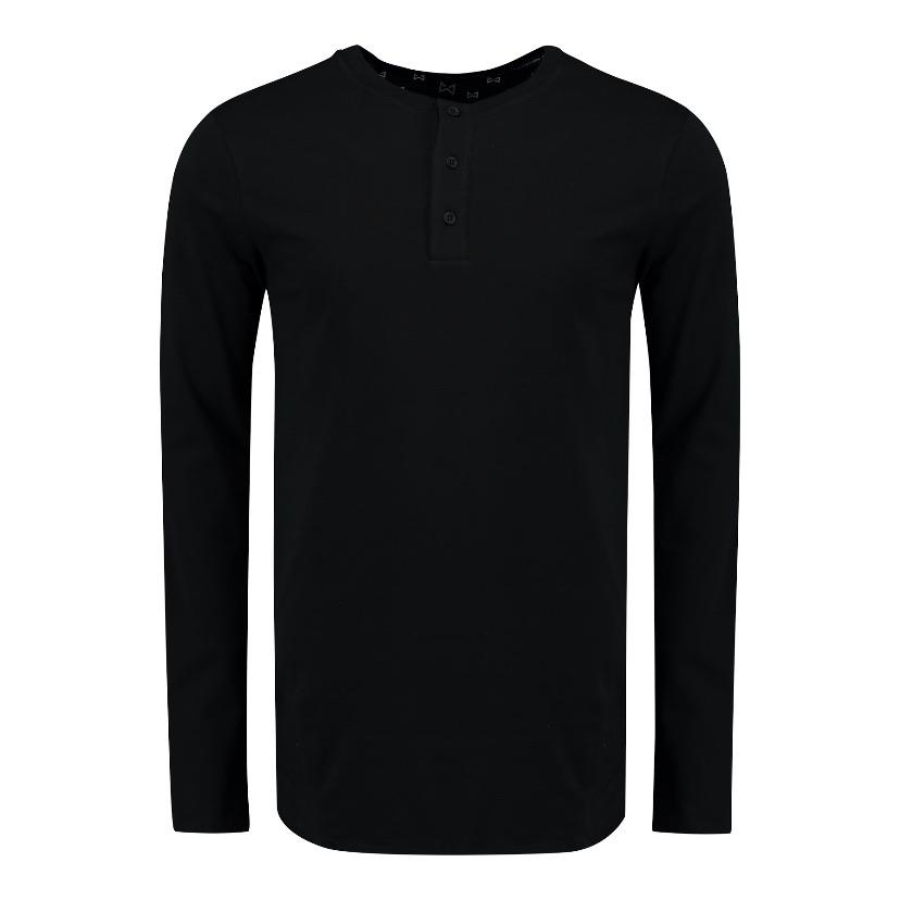WOLF Classic Longsleeve Shirt (black) - Wolf Clothing Brand