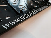 WOLF License Plate Holder - Wolf Clothing Brand