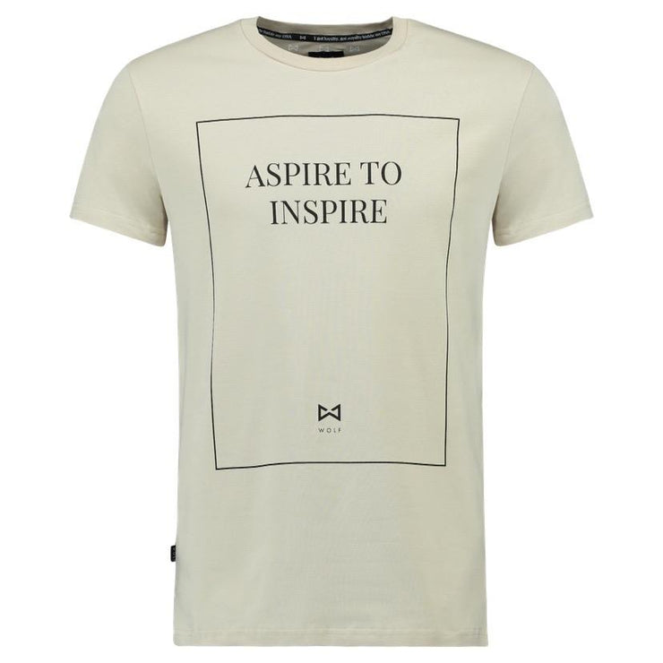 WOLF Street Aspire T-shirt (desert dust) - Wolf Clothing Brand
