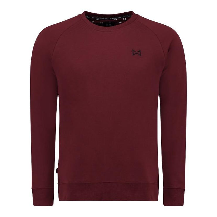 WOLF Classic Sweater (burgundy) - Wolf Clothing Brand