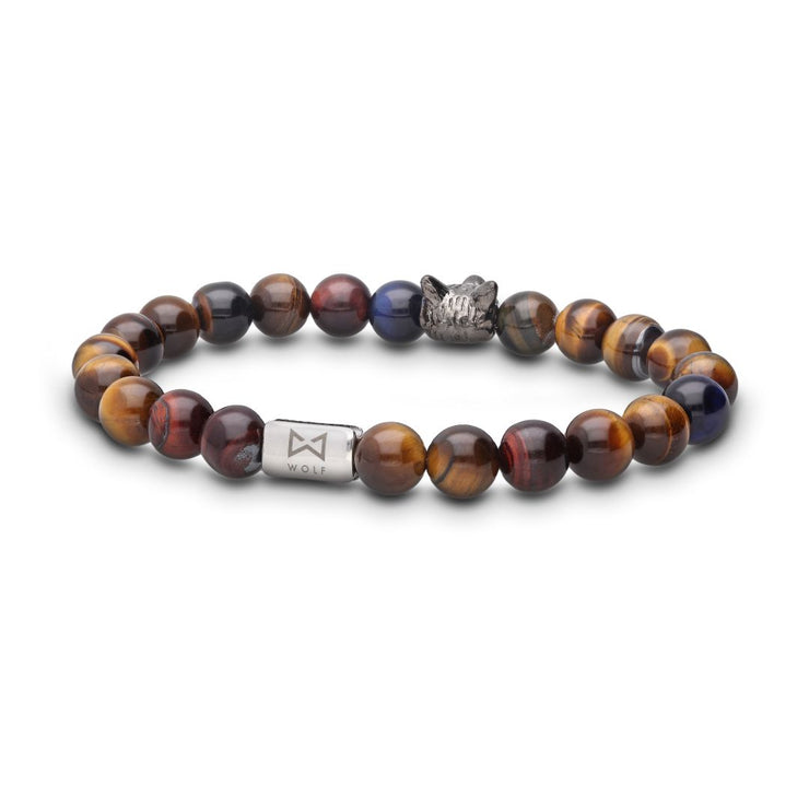 WOLF Men's Bracelet (multi-color)-Wolf Clothing Brand