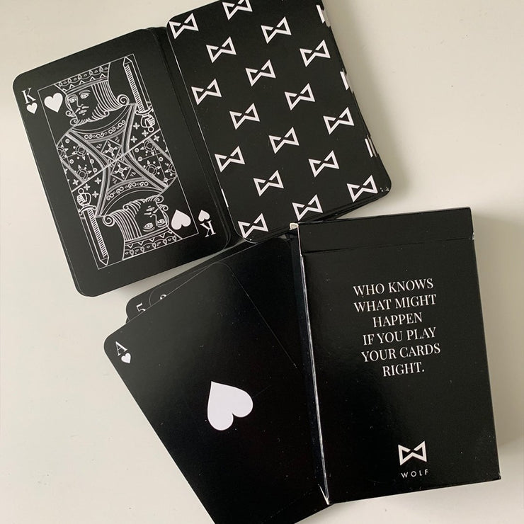 WOLF Playing Cards-Wolf Clothing Brand
