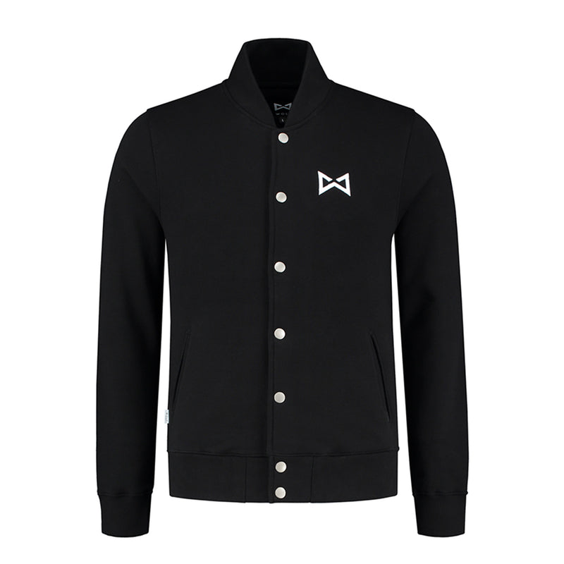 Wolf Varsity Jacket Black-Wolf Clothing Brand