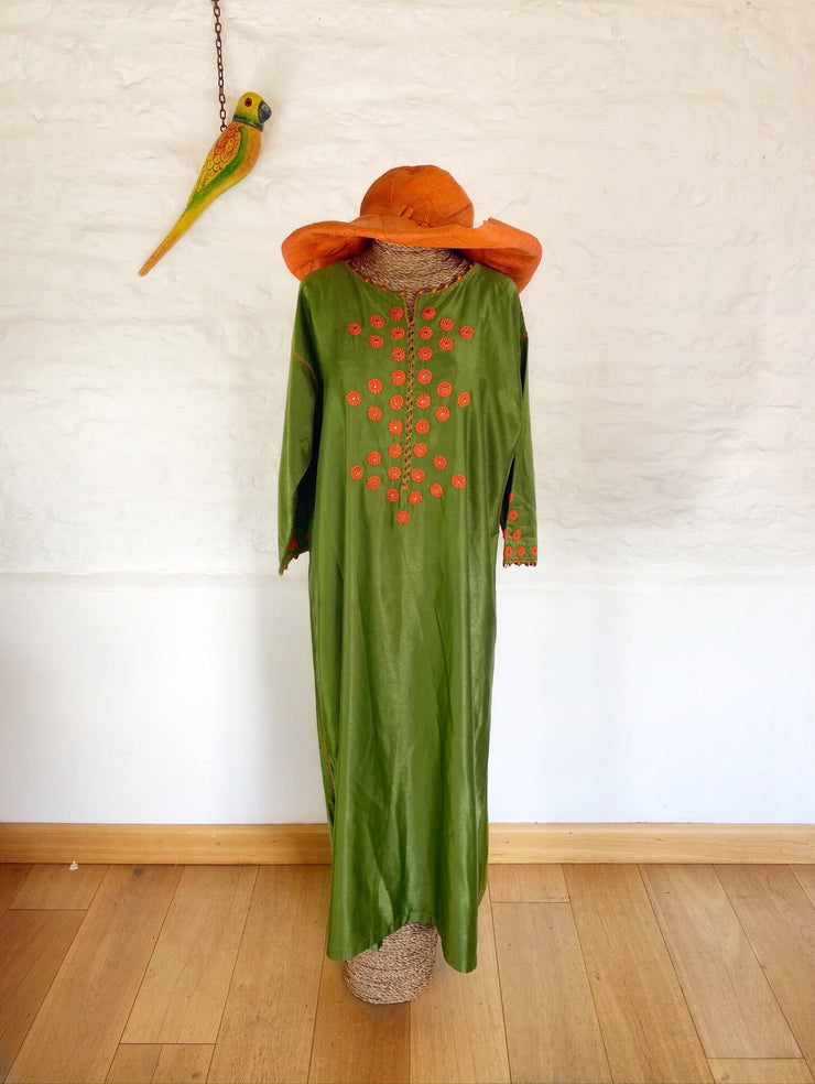 Avocados and Oranges Kaftan