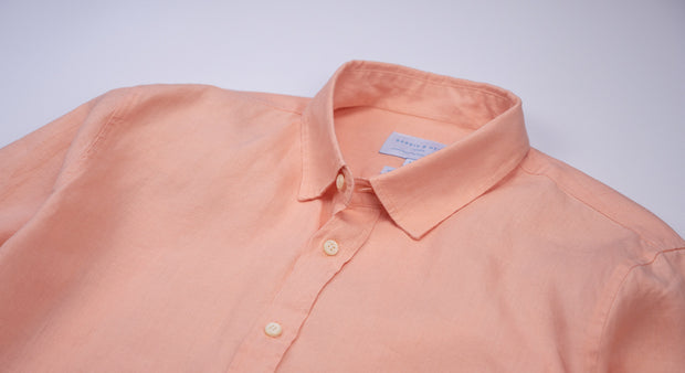 Bahama Peach Hemp Shirt- Babble & Hemp