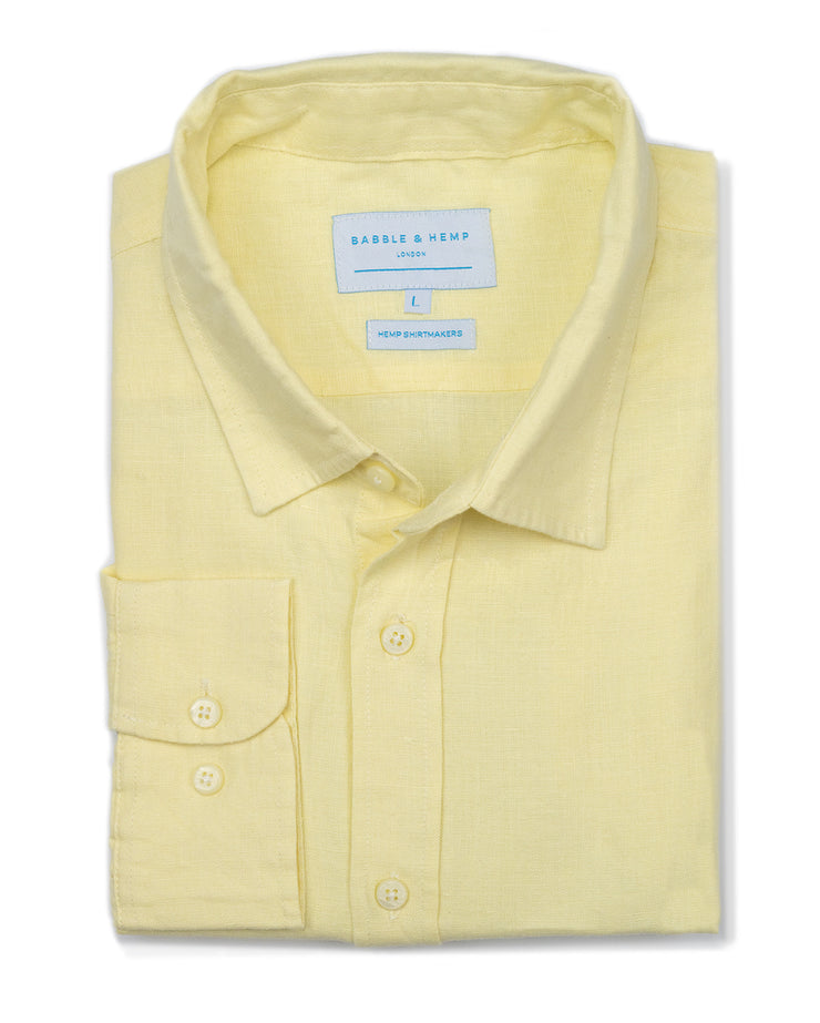 Dawn Yellow Shirt by Babble & Hemp