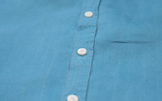 Petrol Blue Shirt- Babble & Hemp