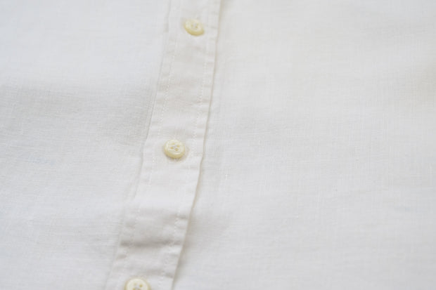 Portobello Ivory Hemp Shirt- Babble & Hemp