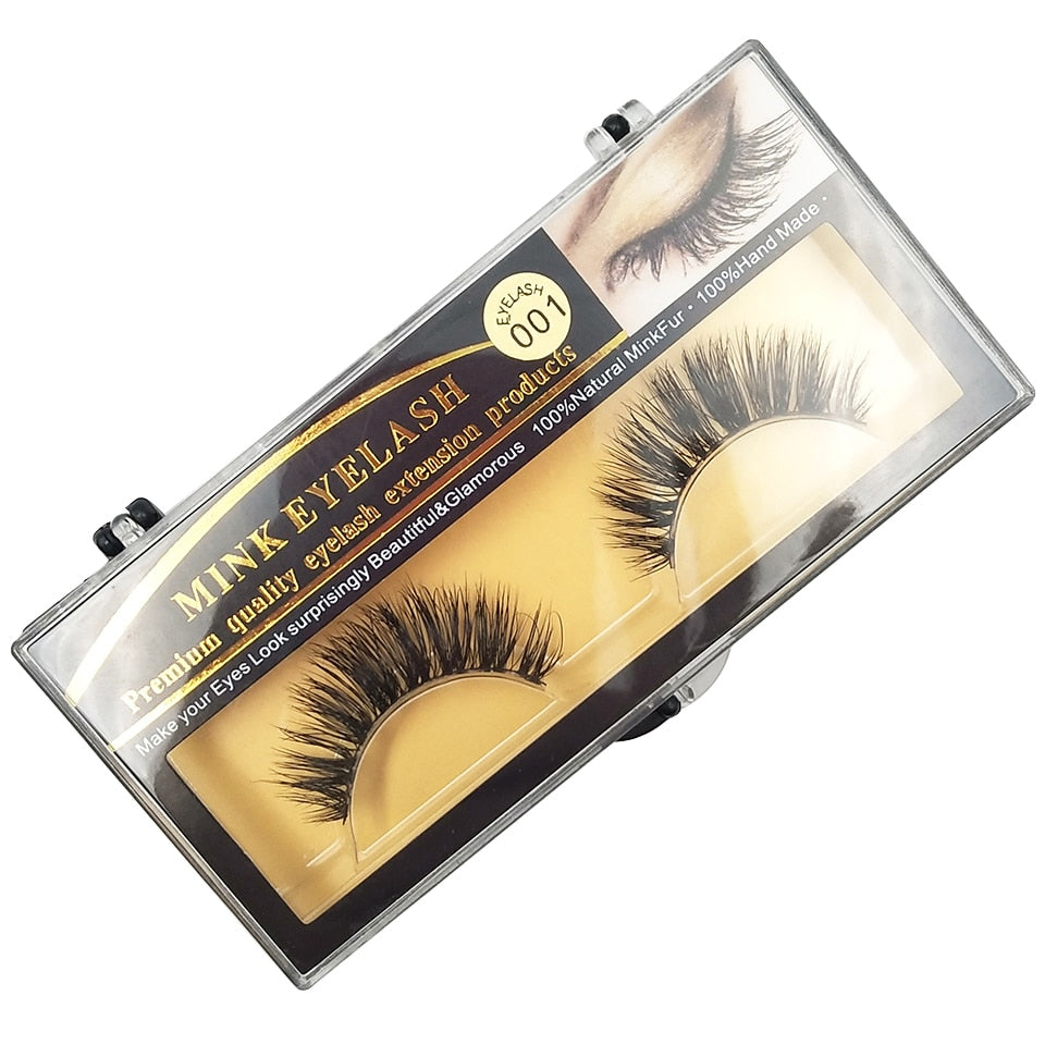 Africa 3D Siberian Mink Lashes