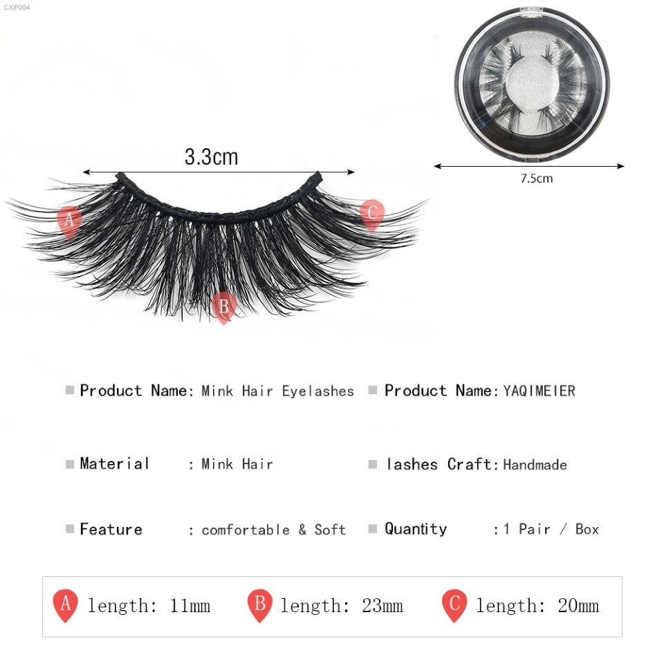 Cinxia 5D Mink Long Lashes