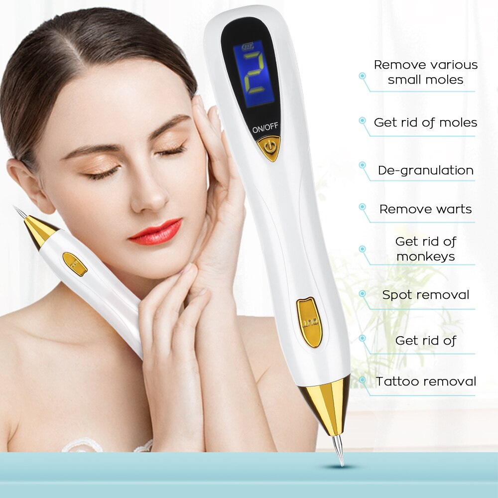 Tattoo, Mole and Freckle Removal Pen with LCD