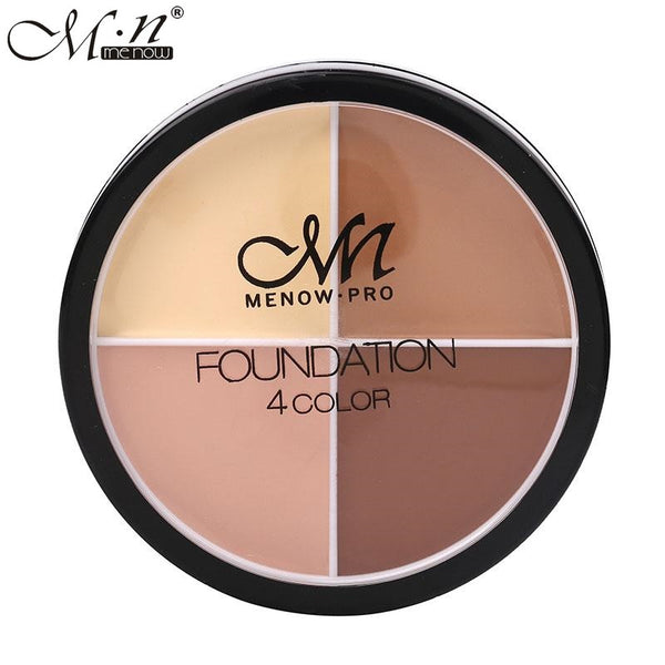 MENOW 4 Colors Makeup Foundation Palette