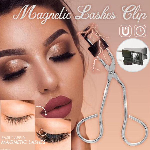 Magnetic Clip&Curler And Magnetic Eyelashes