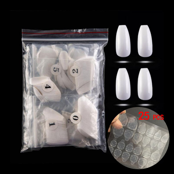 Ballerina Professional False Nails - 500PCS
