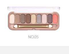 O.TWO.O® 9 Colors Eye-shadow Palette With Brush 5