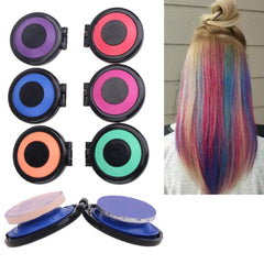 6 Colors Set of Temporary Professional Hair Dye