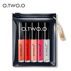 O.TWO.O® 5 PCS Liquid Lipstick Set - royalchoice-lashes.myshopify.com