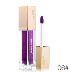 MUSIC FLOWER® Metallic Liquid Lip Gloss 6