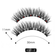 Magnetic Eyelashes, Magnetic Eyeliner, and Tweezers Set - royalchoice-lashes.myshopify.com