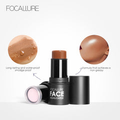 FOCALLURE™ Waterproof Highlighter Stick - royalchoice-lashes.myshopify.com