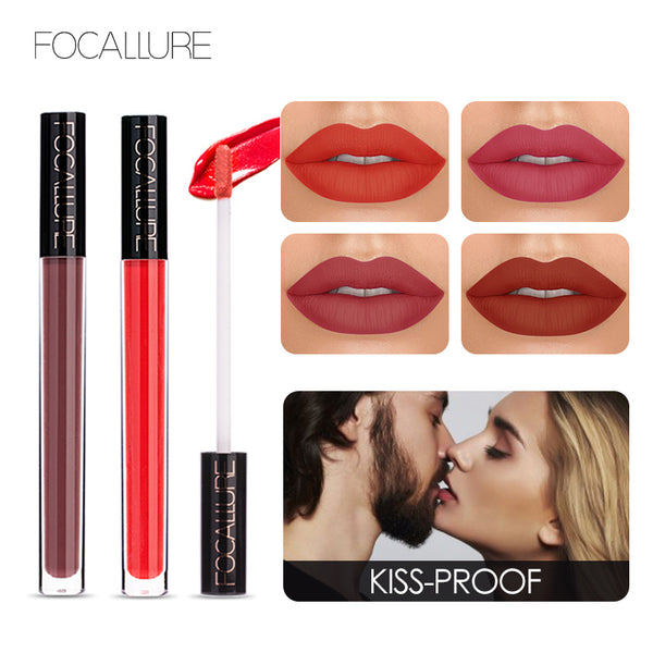FOCALLURE™ 14 Matte Creamy Liquid Lipsticks