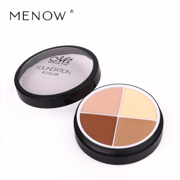 MENOW® 4 Colors Makeup Foundation Palette - royalchoice-lashes.myshopify.com