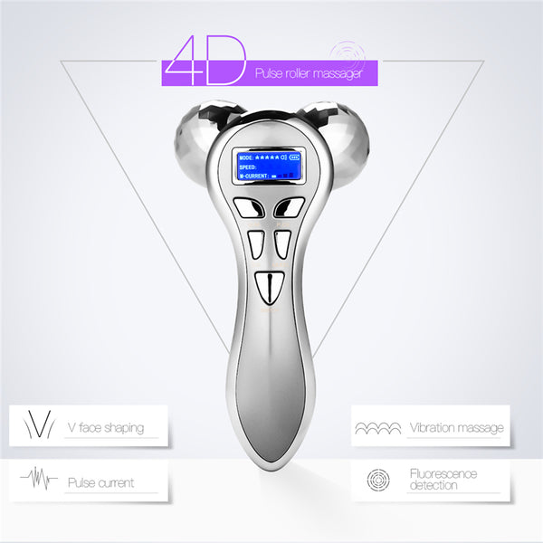 4D V-Shape Face Lift Electric Massager - royalchoice-lashes.myshopify.com