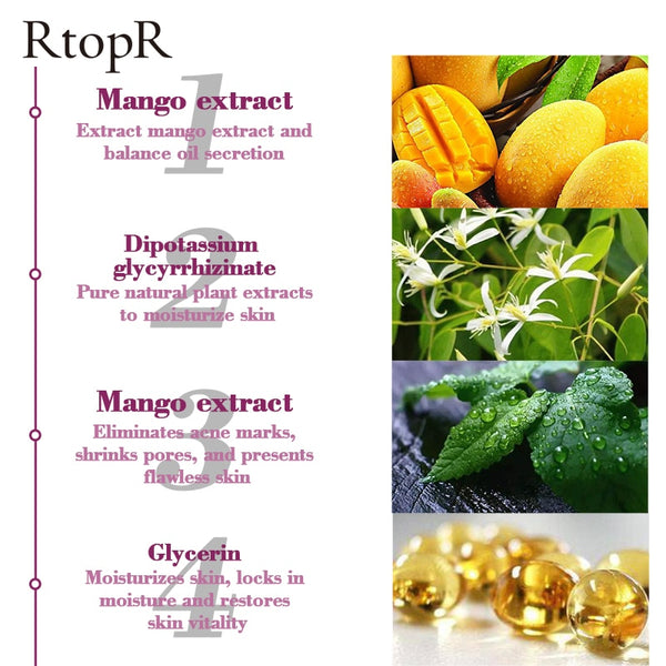 RtopR Natural Mango Extract Acne Remover Cream