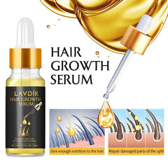 LAVDIK Ginger Serum for Fast Hair Growth, Hair Loss Prevention, and Damaged Hair Repair