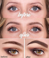 SEXYYSECRET Eyebrow Makeup Tint Pen application results