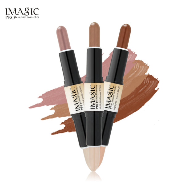 IMAGIC PRO Double-ended Highlight & Contour Makeup Stick