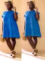 Kimmie Babydoll dress (denim)