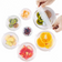 A la Carte BPA Free, Reusable Silicone Stretchable Lids, Dinnerware & Food Covers