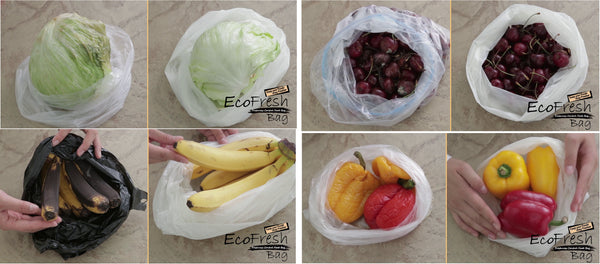 EcoFresh Produce Saver Bag Comparison Result - ACHub