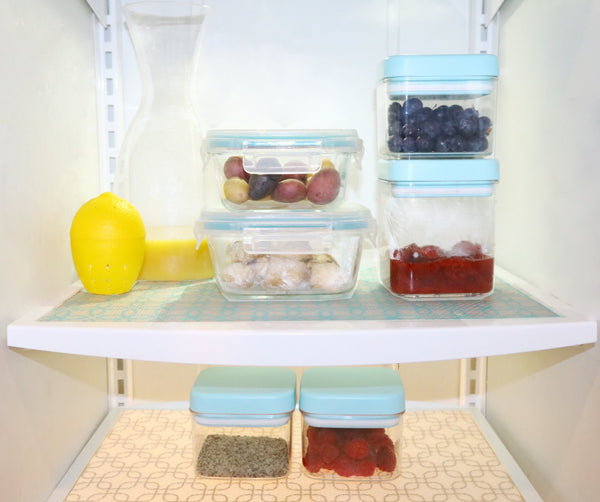 FridgeFresh Liner - Antimicrobial, BPA Free Refrigerator Mat Use Case