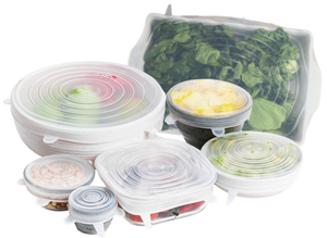 altCookingHub Silicone Stretch Lids 7-pc, XL Set