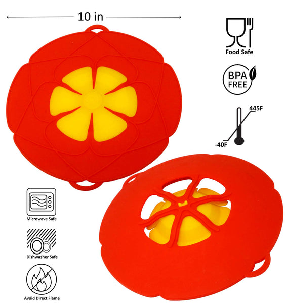 Silicone Spill Stopper Pot Cover Tech - altCookingHub