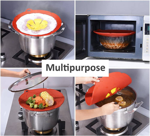 Silicone anti-Spill Pot Cover Tech - altCookingHub