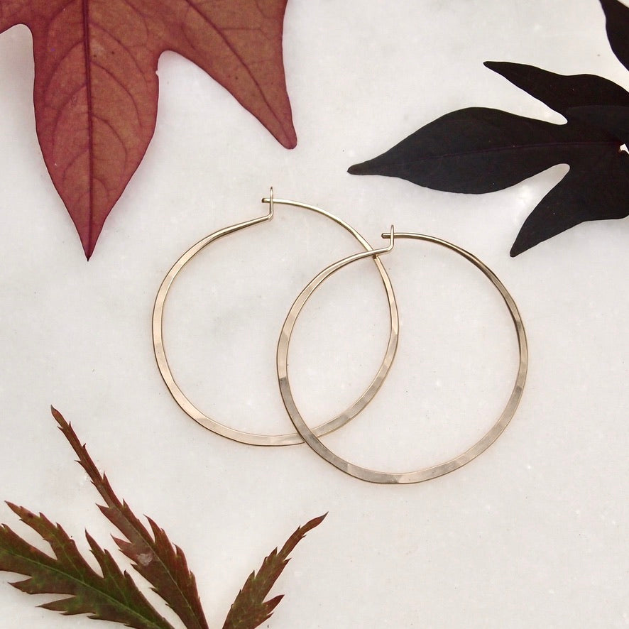 Gold Fill Hoops