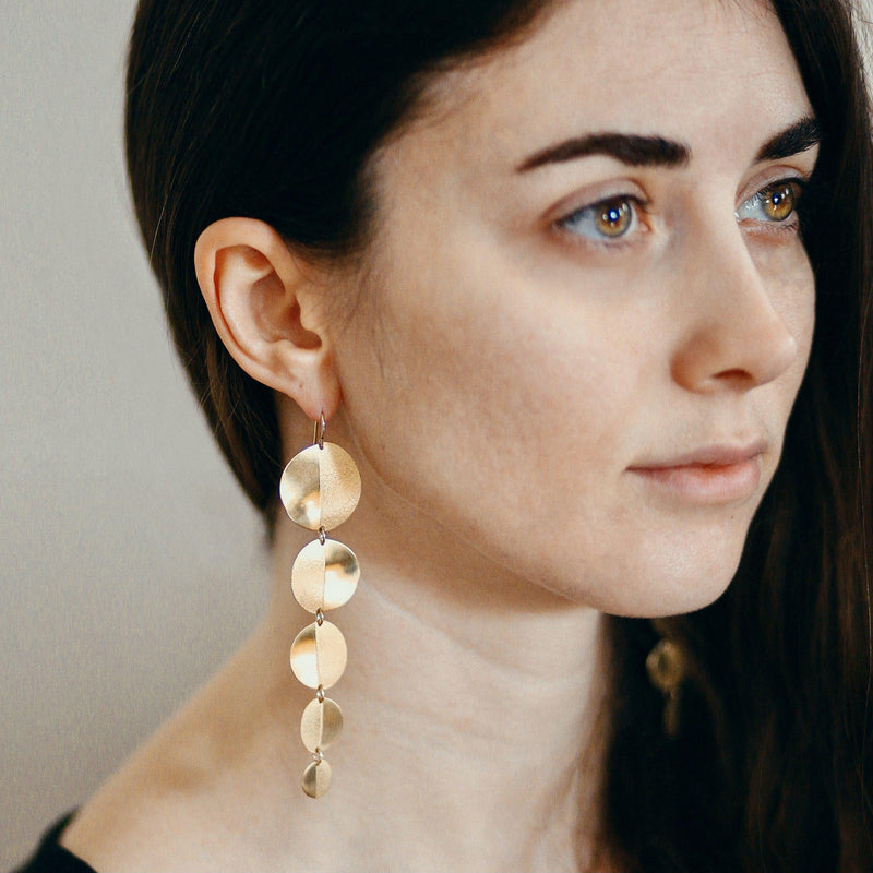 Moon Duster Earrings